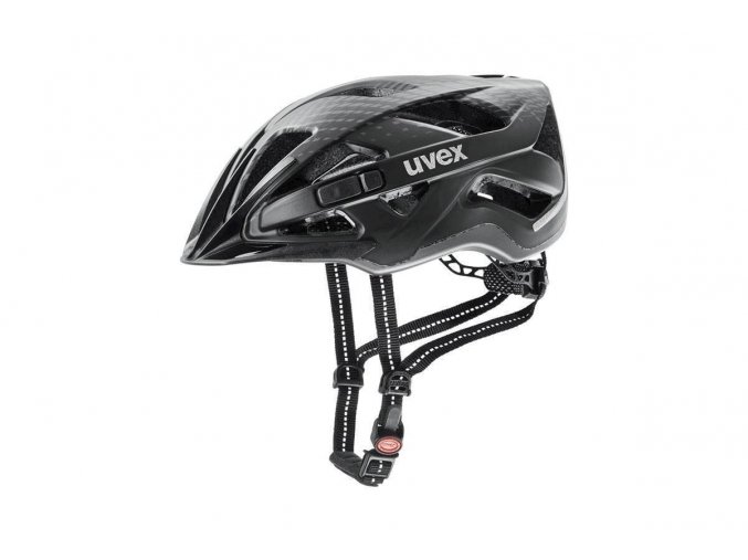 19 UVEX HELMA CITY ACTIVE, BLACK MAT 52-57