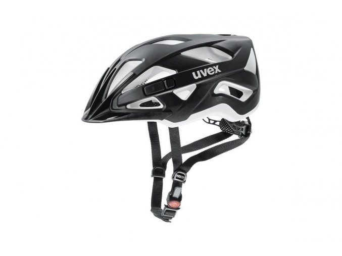 18 UVEX HELMA ACTIVE CC, BLACK-WHITE MAT 52-57
