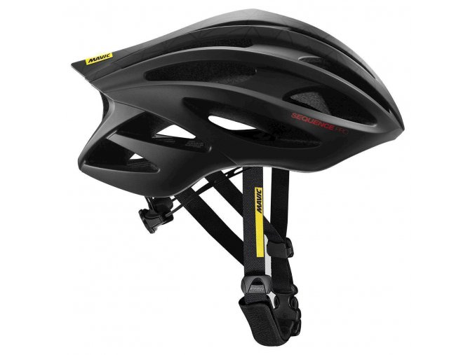 19 MAVIC HELMA SEQUENCE PRO BLACK/LOLLIPOP