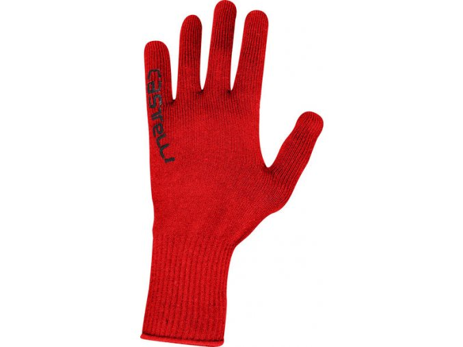 Castelli - pánské rukavice Corridore, red