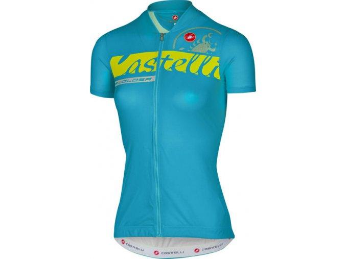 Castelli - dámský dres Favolosa, caribbean