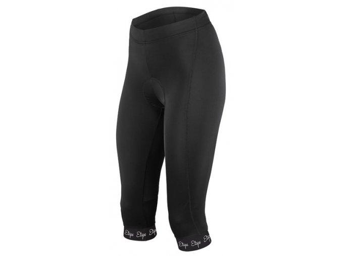 Etape - dámské kalhoty NATTY 3/4 s vložkou, černá