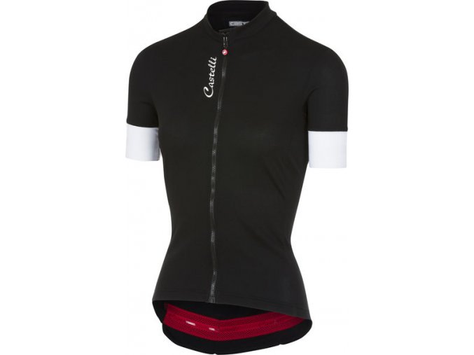 Castelli - dámský dres Anima 2 FZ, black