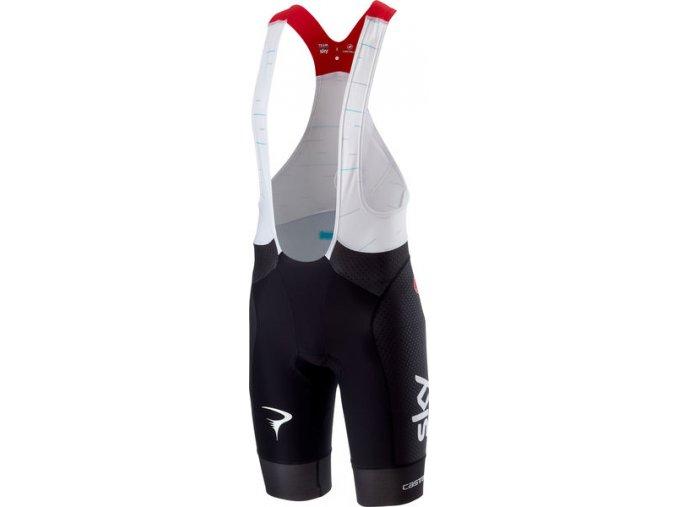 Castelli - Team Sky pánské kalhoty Free Aero Race s vložkou, black