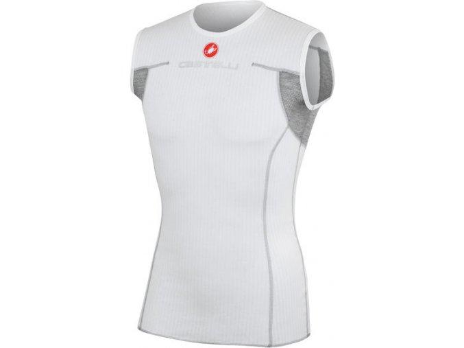 Castelli - pánské funkční prádlo Flanders bez rukávů, white