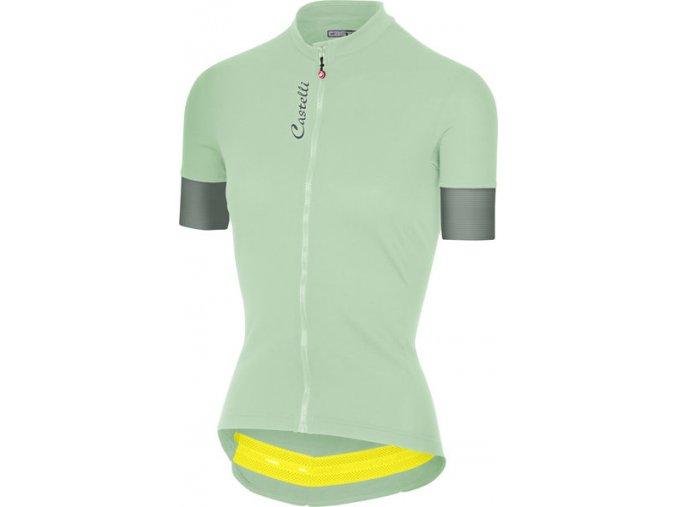 Castelli - dámský dres Anima 2 FZ, pastel mint