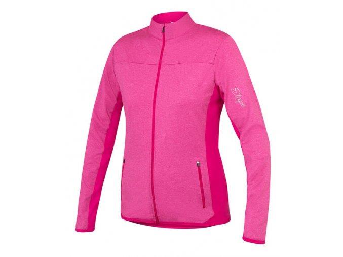 Etape - dámský dres LISSA, růžová melír