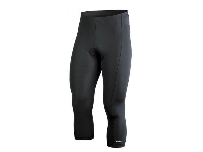 Etape - pánské kalhoty RACE PAS 3/4 s vložkou, černá