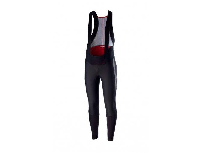 Castelli - pánské kalhoty Sorpasso 2 Wind s vložkou, black/reflex
