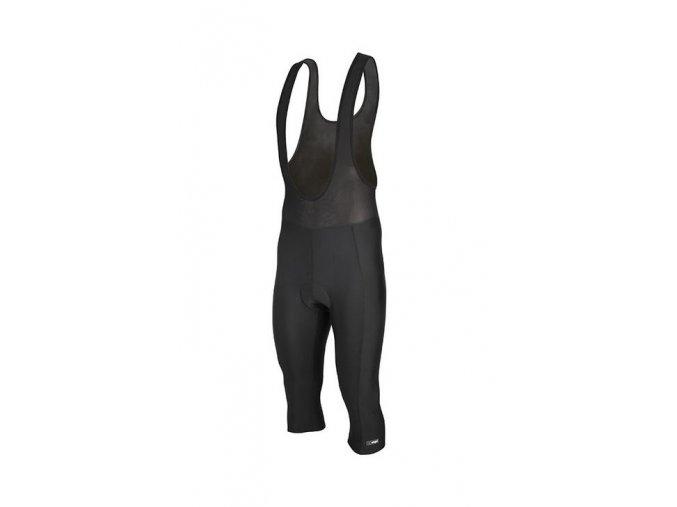 Etape - pánské kalhoty RACE LACL 3/4 s vložkou, černá
