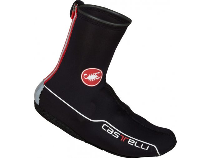 Castelli - návleky na tretry Diluvio 2 All-Road, black