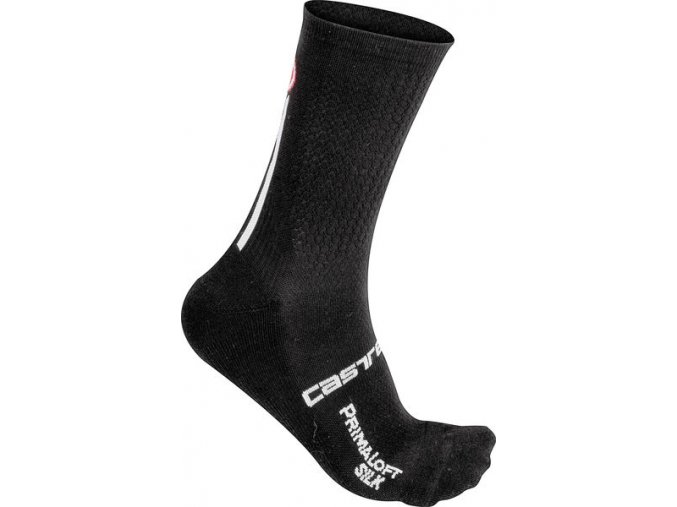 Castelli - pánské ponožky Primaloft 13, black