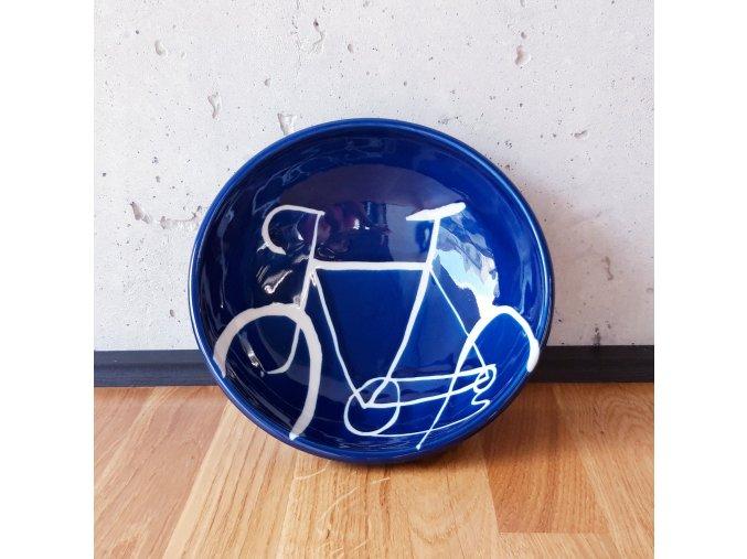 Cyklistická jídelní miska (velké kolo)