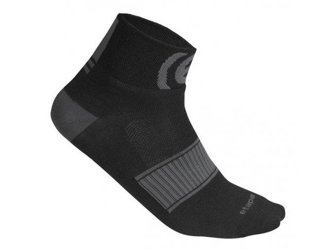 Etape - ponožky SOX, černá/šedá