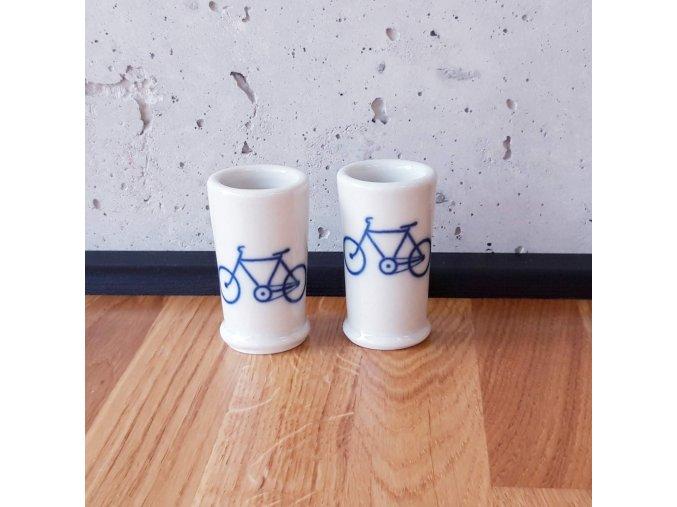 Cyklistický panák bílý