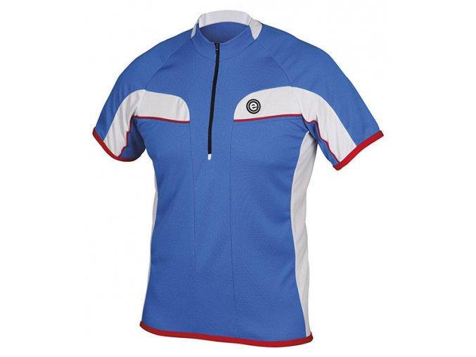 Etape - pánský dres FACE, modrá/bílá/červená
