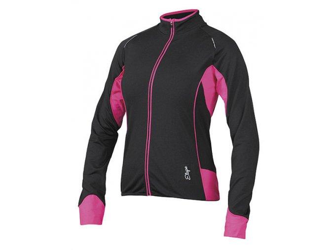 Etape - dámský dres GAIA, černá/růžová