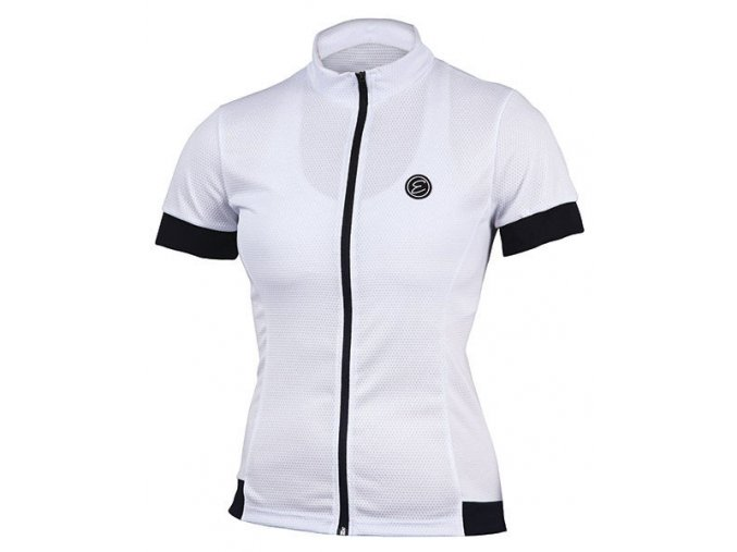Etape - dámský dres DONNA, bílá