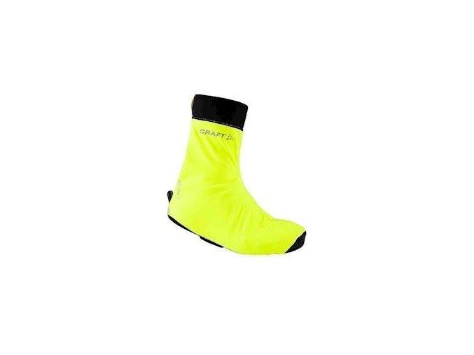 Návleky CRAFT Rain Bootie žlutá S