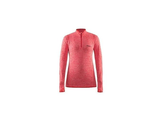 W Triko CRAFT Active Comfort Zip LS