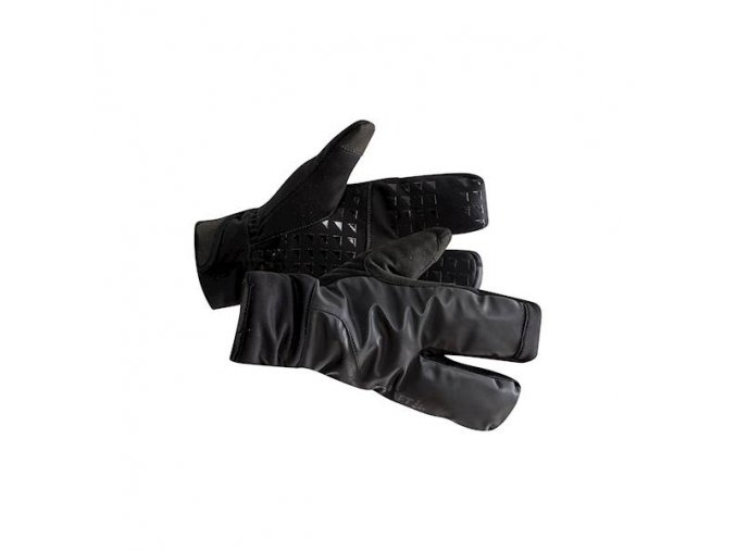 cyklorukavice craft siberian split finger 20 cerna
