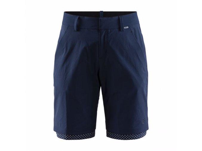 w cyklosortky craft ride habit shorts tmave modra 4