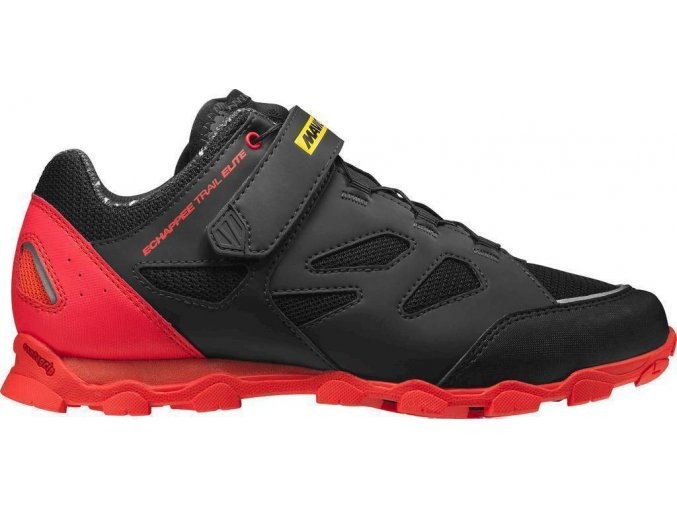 18 MAVIC ECHAPPÉE TRAIL ELITE TRETRY PIRATE BLACK/FIERY RED 401547 3,5