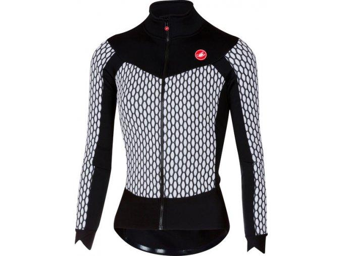 Castelli - dámský dres Sfida, white/black