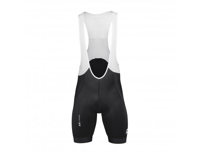 Cyklokalhoty POC Essential Road Bib Shorts Uranium Black
