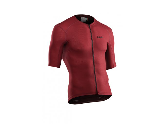 Cyklodres NORTHWAVE Stealth Jersey Short Sleeves Bordeaux