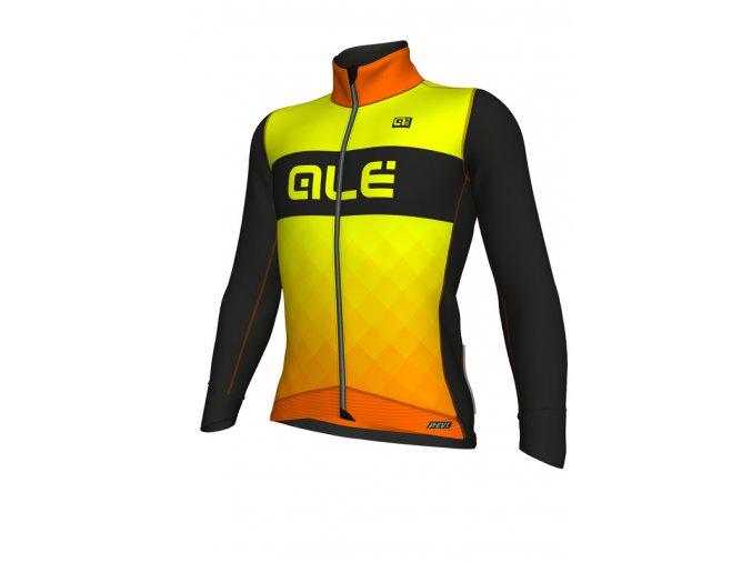 Zimní cyklistická bunda ALÉ pánská R-EV1  RUMBLES JACKET