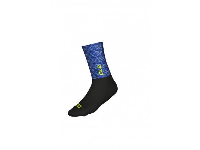 Cyklistické ponožky ALÉ MERINO LOGO SOCKS H18