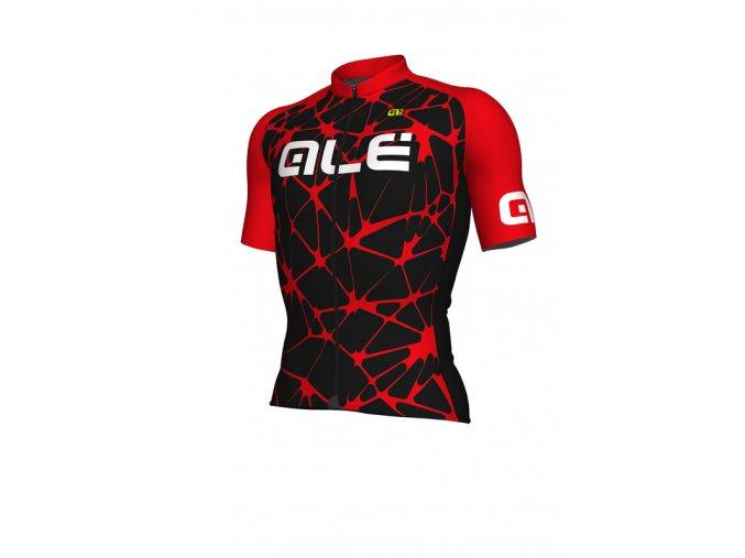 Letní cyklistický dres ALÉ pánský CRACLE