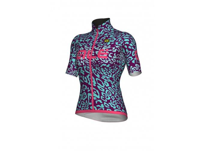 Letní cyklistický dres ALÉ dámský KLIMATIK K-ATMO ESPLOSIONE WOMAN