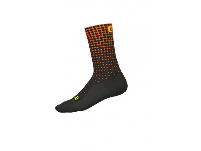 Cyklistické ponožky ALÉ CALZA DOTS H18