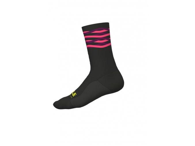 Cyklistické ponožky ALÉ CALZA SPEEDFONDO H18