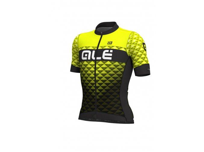 Letní cyklistický dres ALÉ PRS  HEXA