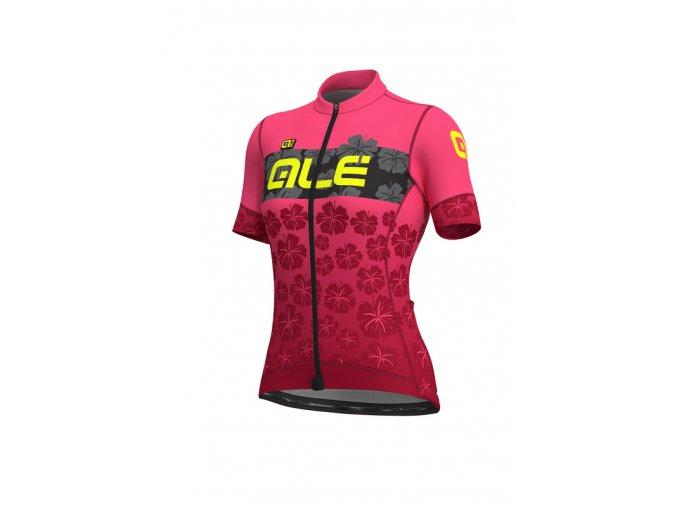 Letní cyklistický dres ALÉ PRS IBISCO LADY