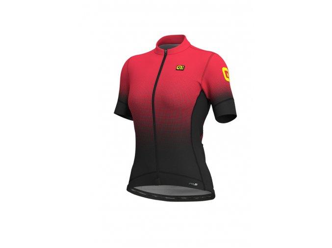Letní cyklistický dres ALÉ PRS DOTS LADY
