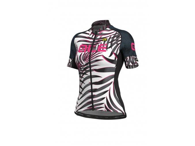 Letní cyklistický dres ALÉ GRAPHICS PRR  SUNSET LADY