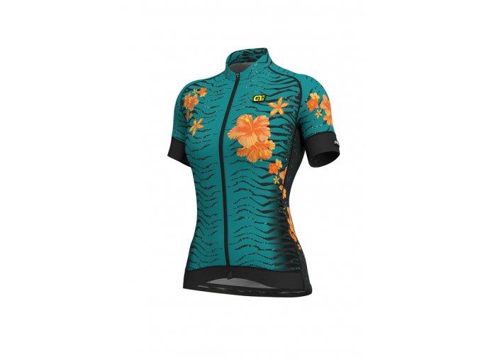 Letní cyklistický dres ALÉ GRAPHICS PRR  SAVANA LADY