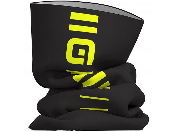 Al Identity Tubular Headgear Neck Tubes Black Fluro Yellow SS19 L19754019
