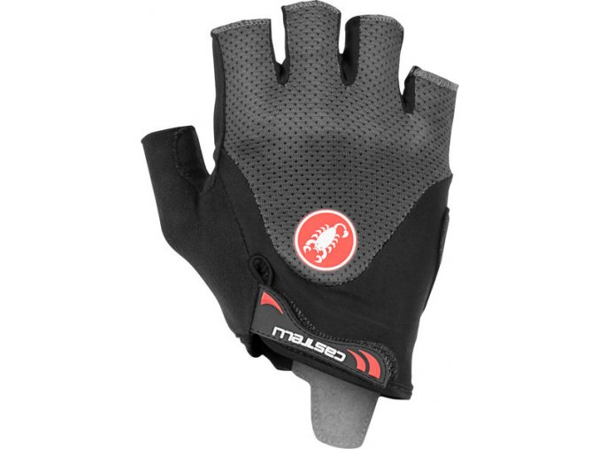 Castelli – rukavice Arenberg Gel 2, dark grey