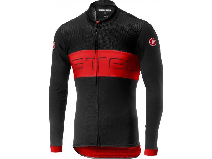 Castelli - pánský dres Prologo VI, dl. Rukávy, black/red