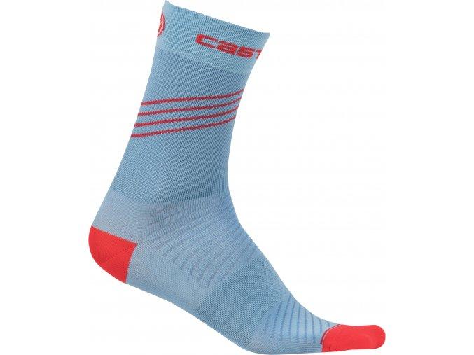 Castelli - dámské ponožky Alta, riviera blue