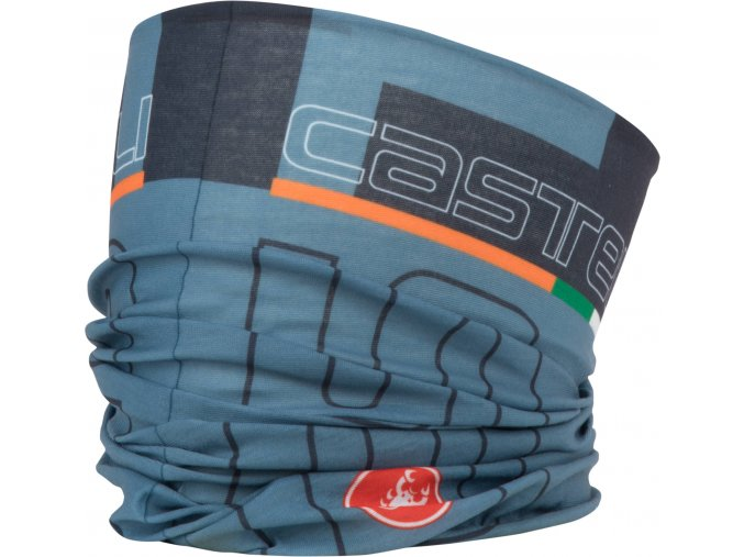 Castelli - nákrčník Head Thingy, light steel blue