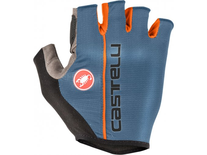 Castelli - rukavice Circuito, light steel blue
