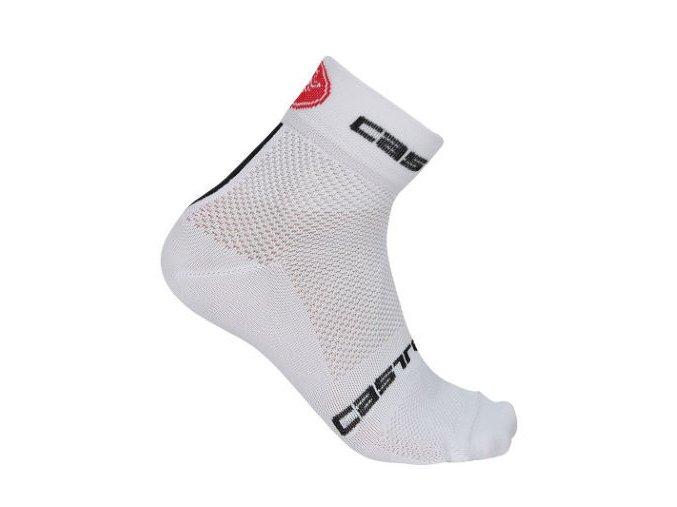 Castelli – pánské ponožky Free 6, white