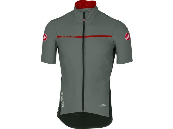 Castelli - pánský dres Perfetto Light 2, forest gray