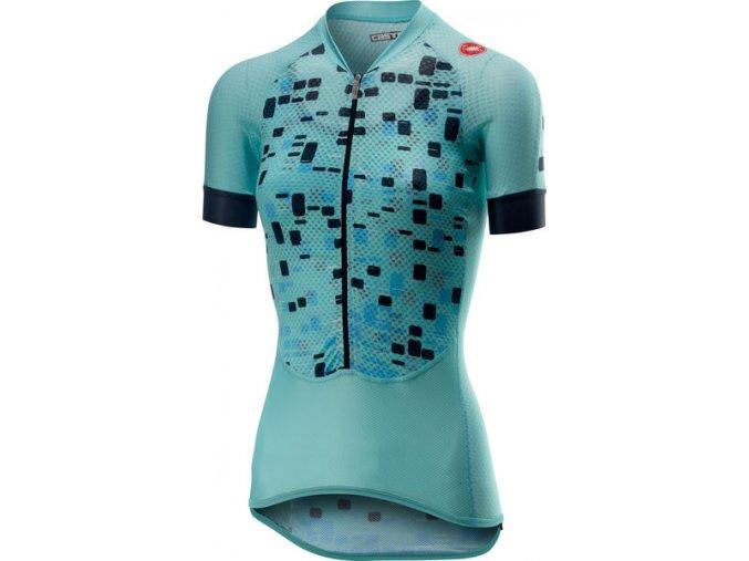 Castelli - dámský dres Climber's, aruba blue